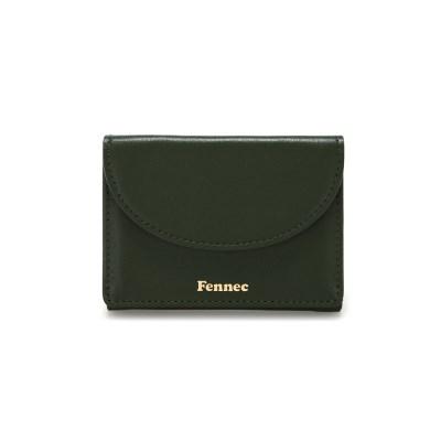 [5/18 예약배송]FENNEC HALFMOON MINI WALLET - KHAKI