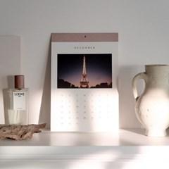 2019 Calendar C'est la vie PARIS