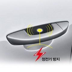 평화 자동차 시크릿 정전기 방지 패드