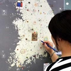 [정품] 우리나라지도 대한민국지도 한국지도 여행지도 트래블맵