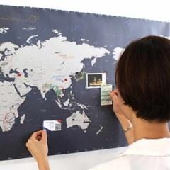 [정품] 세계지도 월드맵 인테리어지도 세계지도인테리어