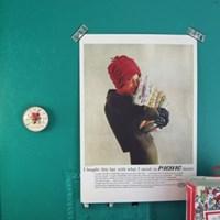 빈티지 미니 포스터