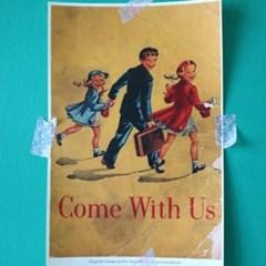 빈티지 미니 포스터 :: come with U