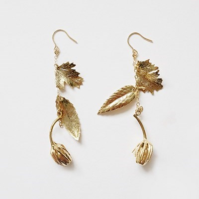 Long Drop Flower Earring