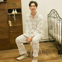 [m] Mink Butterfly Pajama Set