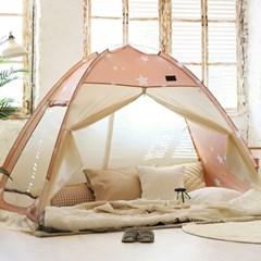 온돌 원터치 난방 텐트 패턴 더블 퀸 킹