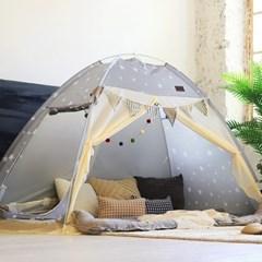 온돌 원터치 난방 텐트 패턴 싱글 슈퍼싱글
