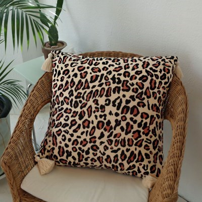 Leopard Tassel