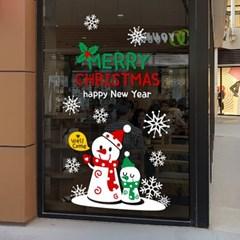 제제데코 크리스마스 눈꽃 스티커 장식 CMS4J034_(837120)