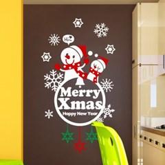 제제데코 크리스마스 눈꽃 스티커 장식 CMS4J032_(837118)