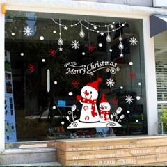 제제데코 크리스마스 눈꽃 스티커 장식 CMS4J030_(837116)