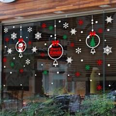 제제데코 크리스마스 눈꽃 스티커 장식 CMS4J029_(837115)