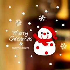 제제데코 크리스마스 눈꽃 스티커 장식 CMS4J024_(837110)
