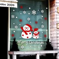제제데코 크리스마스 눈꽃 스티커 장식 CMS4J023_(837109)