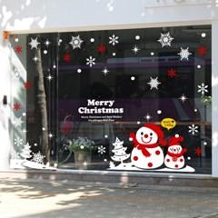 제제데코 크리스마스 눈꽃 스티커 장식 CMS4J022_(837108)