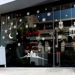 제제데코 크리스마스 눈꽃 스티커 장식 CMS4J020_(837106)