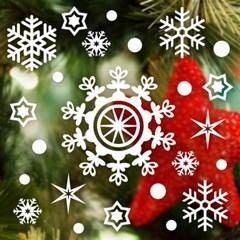 제제데코 크리스마스 눈꽃 스티커 장식 CMS4J017_(837103)