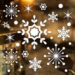 제제데코 크리스마스 눈꽃 스티커 장식 CMS4J016_(837102)