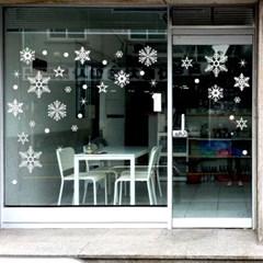 제제데코 크리스마스 눈꽃 스티커 장식 CMS4J015_(837101)