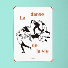 유니크 인테리어 디자인 포스터 M 삶의 춤 마티스