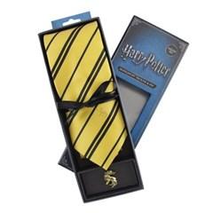 해리포터 후플푸프 코스튬 넥타이+넥타이핀 (디럭스에디션)