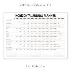 [2019 달력] Wall Calendar - 13