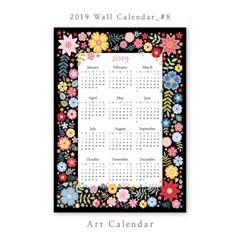 [2019 달력] Wall Calendar - 8