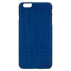 아이폰6s/6플러스 우드케이스 - 미드나잇블루