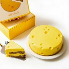 에멘탈 크림 치즈케이크