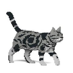 [JEKCA] 걷는 고양이레고 (아메리칸 쇼트헤어)