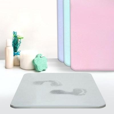 정품 사라사라 규조토 욕실 화장실 건식 발매트