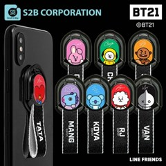 [BT21 예약판매] 스마트폰 마그넷 홀더(스트랩)