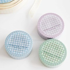 Gingham Check Masking Tape