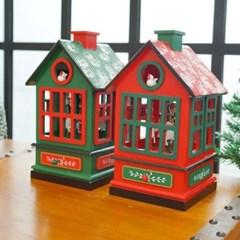 크리스마스 회전목마 하우스 오르골(2type)_(1405905)