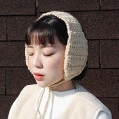 Soft knit ear muff