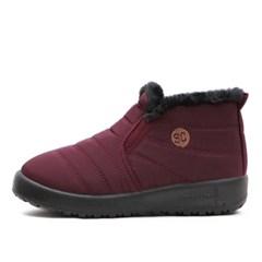 kami et muse Comfort short pedding fur boots_KM18w169