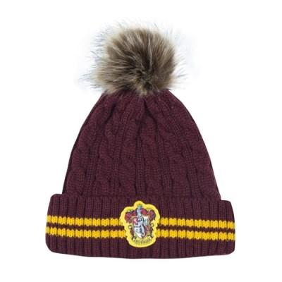 해리포터 털 방울 모자 그리핀도르 겨울용 폼폼 비니