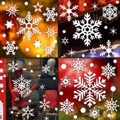 제제데코 크리스마스 눈꽃 스티커 장식 CMS4J104_(847469)