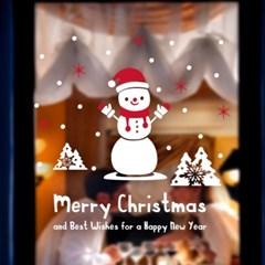 제제데코 크리스마스 눈꽃 스티커 장식 CMS4J083_(847448)