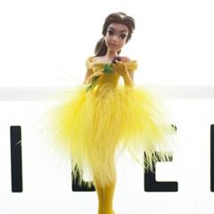 디즈니 미녀와 야수 캐릭터 볼펜