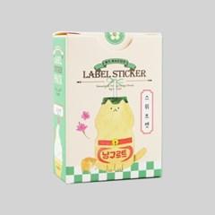 라벨 스티커팩-30 스위트캣 (봉지)