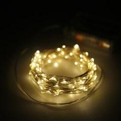 LED 스트링라이트 전구 20구 100구(건전지형)