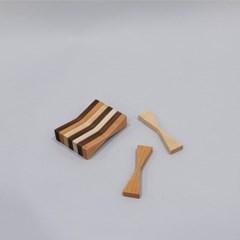 나비모양 자석 메모홀더 (3PCS)