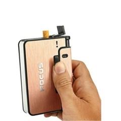 (라이터 증정) 라이터 일체형 담배 케이스