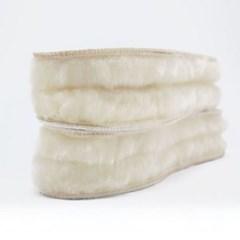 100% 천연 양털 겨울 남자 여자 신발 방한 깔창