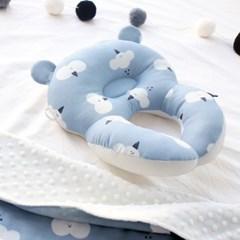 코니테일 아기 목베개 - 클라우드 (유모차목쿠션)