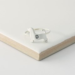 [Silhouette] Beagle ring