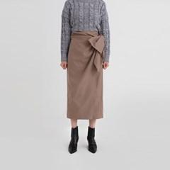 wool lap skirt (2colors)