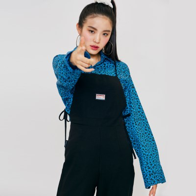 STRING OVERALL Black