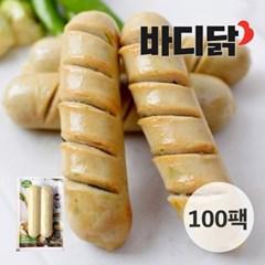 [바디닭] 매콤청양고추 닭가슴살 소시지 100팩_(739811)